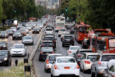"""Cómo se prepara el transporte en Santiago para el """"Súper lunes"""""""
