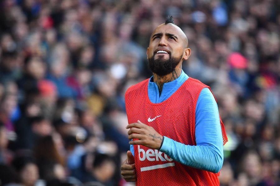 Arturo Vidal fue citado en Barcelona para los cuartos de final de la Copa del Rey