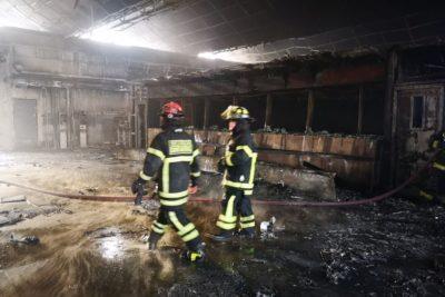 Reformalizan a imputados por quemar estación Pedrero del Metro