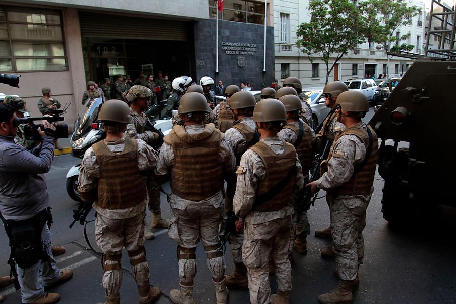 INDH oficia a Ministerio de Defensa por reglas de uso de la fuerza de las FF.AA.