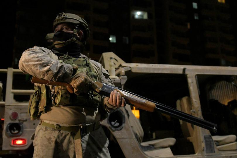 Ministerio de Defensa ingresó a Contraloría nuevo protocolo de uso de fuerza para FFAA