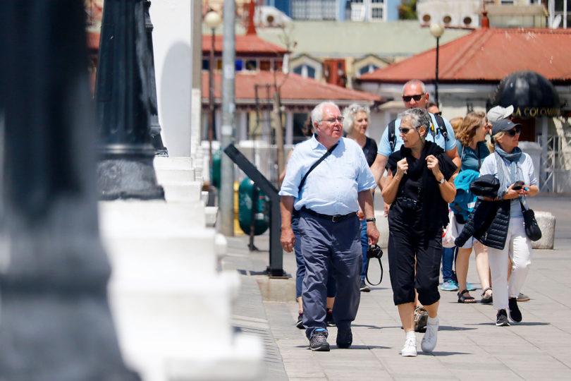 Turistas extranjeros cayeron en 18% durante el mes de diciembre