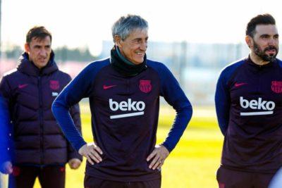 """Quique Setién: """"Podemos competir con todos los equipos en la Champions"""""""