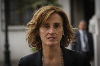 Marcela Cubillos presenta su renuncia al Ministerio de Educación