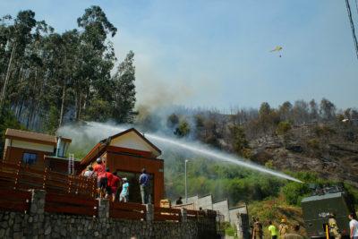 Verano 2020: Aumenta en 143% hectáreas quemadas en Biobío comparado a 2019