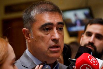 Mario Desbordes denunció amenazas de muerte al Ministerio Público