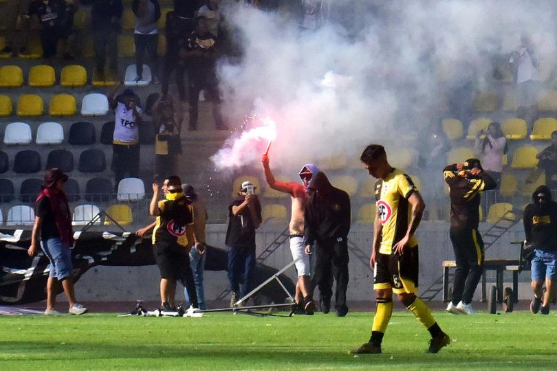 Detenidos por desórdenes en partido de Coquimbo Unido no podrán ingresar a los estadios