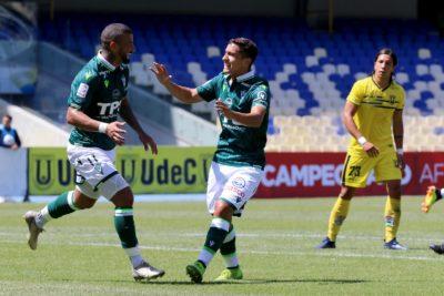 Santiago Wanderers sumó la primera victoria ante Universidad de Concepción