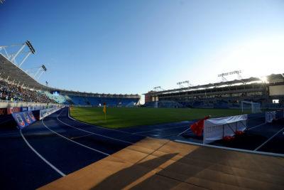 Rayan el estadio Tierra de Campeones de Iquique a horas de su inauguración