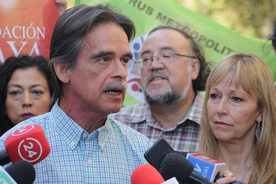 """Unidad Social llama a apoyar """"Apruebo"""" y marcar AC en voto del plebiscito"""