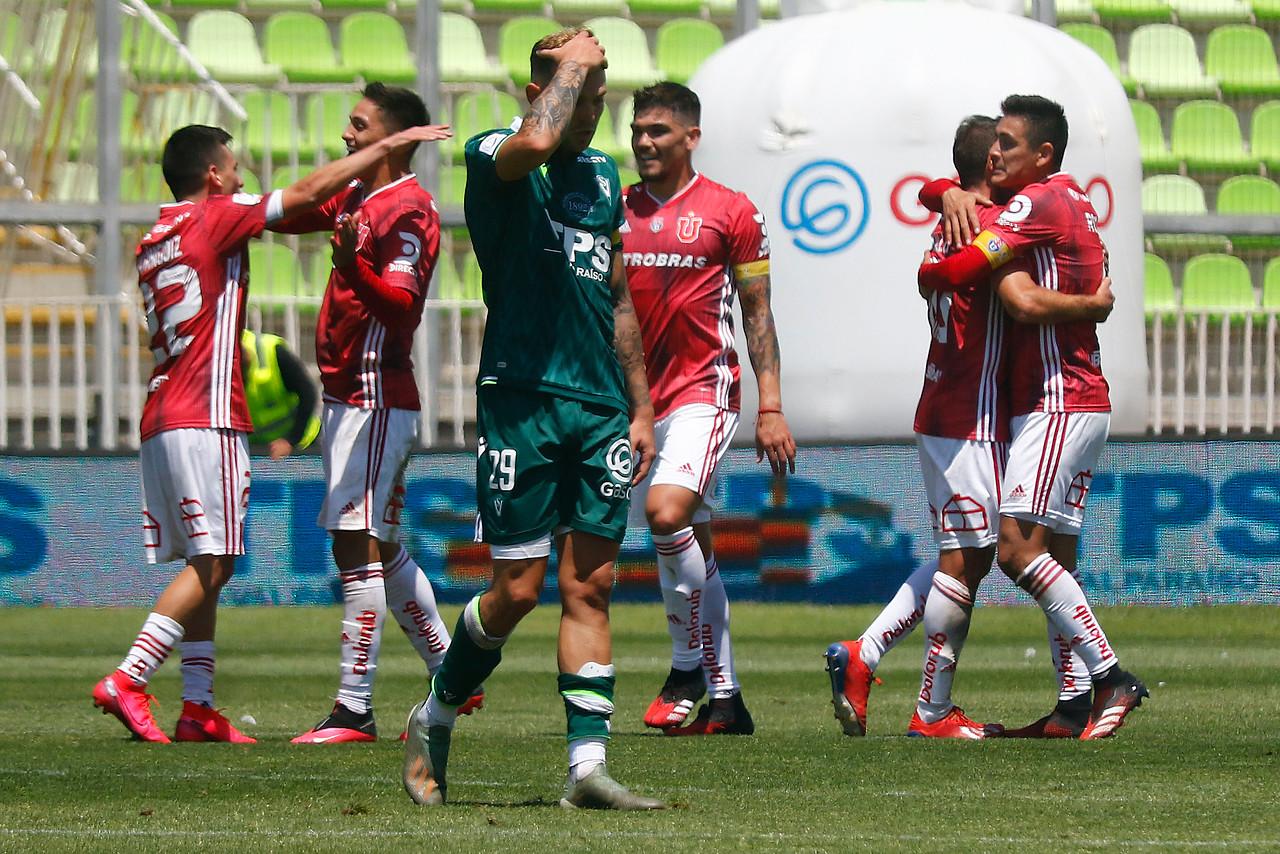 """La """"U"""" derrotó a Santiago Wanderers y se hace del liderato"""