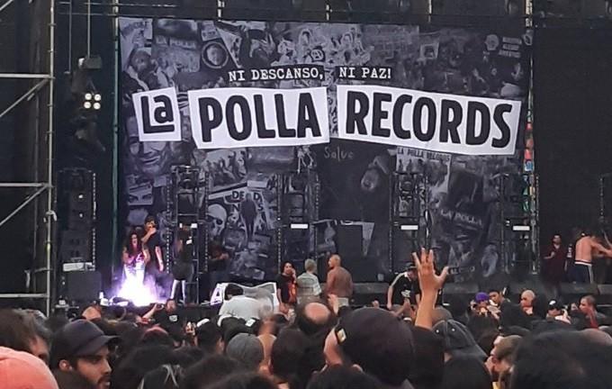 FOTOS + VIDEOS |Incidentes obligaron a suspender show de La Polla Records en La Florida