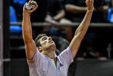 Cristian Garin es campeón del ATP 500 de Río y será top 20