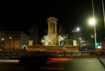 Gobierno se querelló por ataque a Monumento de los Héroes de Iquique