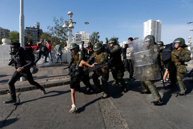 Carabineros reporta un total de 31 detenidos en incidentes en Viña del Mar