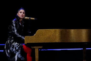 Cinco imágenes que muestran cómo estaba la Quinta Vergara durante el show de Francisca Valenzuela