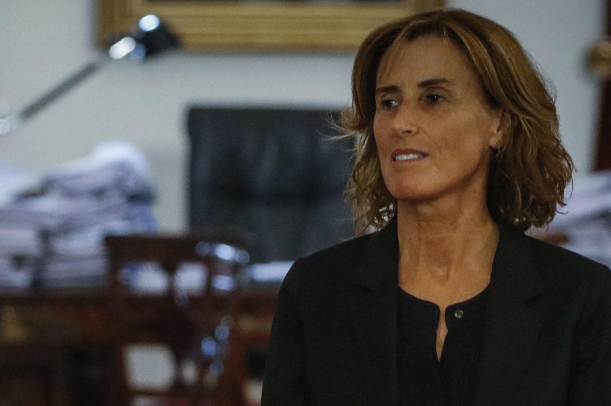 """""""Marcela Cubillos abre la puerta a participar de campaña por el rechazo:"""