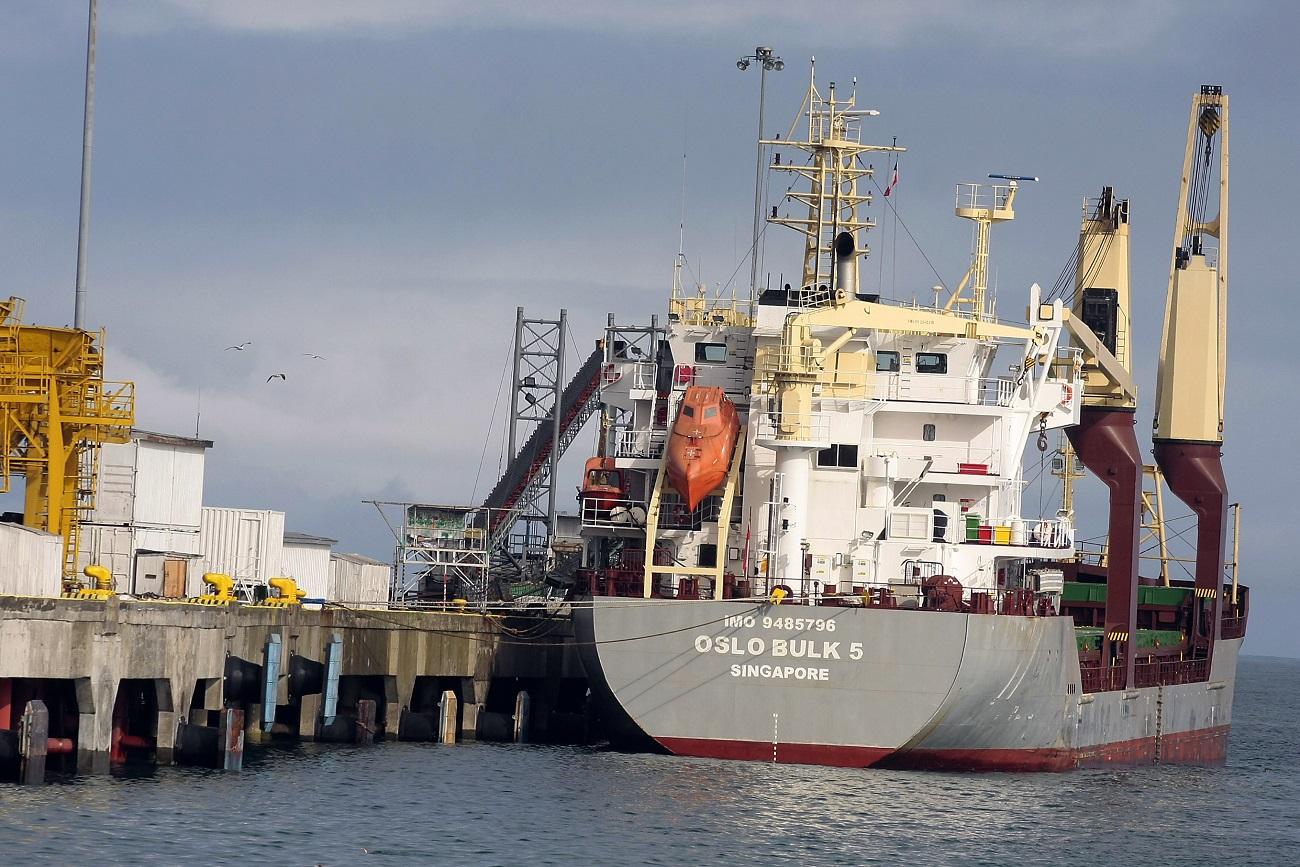 Activan protocolos por llegada de buque desde China a Coronel