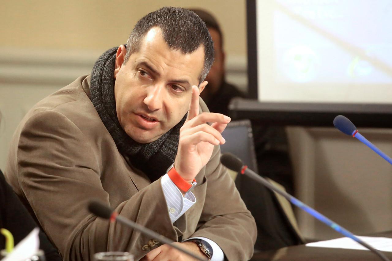 Gustavo Hasbún anuncia querella por injurias y calumnias por polémico audio