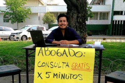 Abogado de San Fernando ofrece asesorías legales gratuitas a cambio de hablar de la nueva Constitución