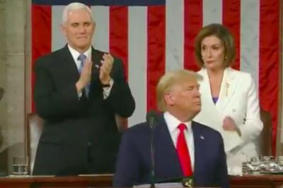 Nancy Pelosi: la demócrata que le rompió el discurso a Trump en la cara