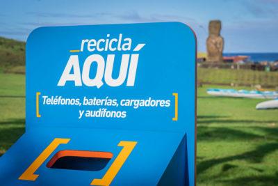 Vecinos y turistas de Rapa Nui podrán reciclar residuos electrónicos gracias a alianza público-privada