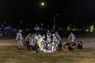 Recrean en Lumaco una de las principales acciones bélicas de la Guerra de Arauco