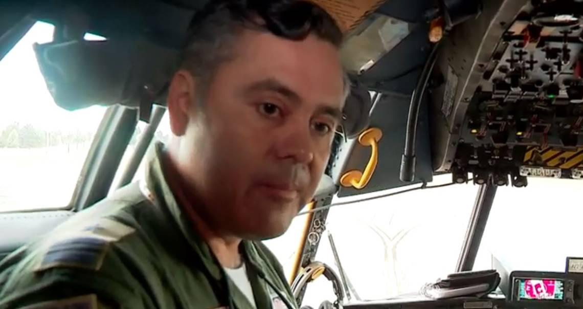 """""""Madre de piloto de Hércules C-130:"""
