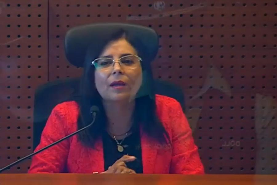 """""""Gobierno interpone una querella por amenazas recibidas por jueza Acevedo"""""""