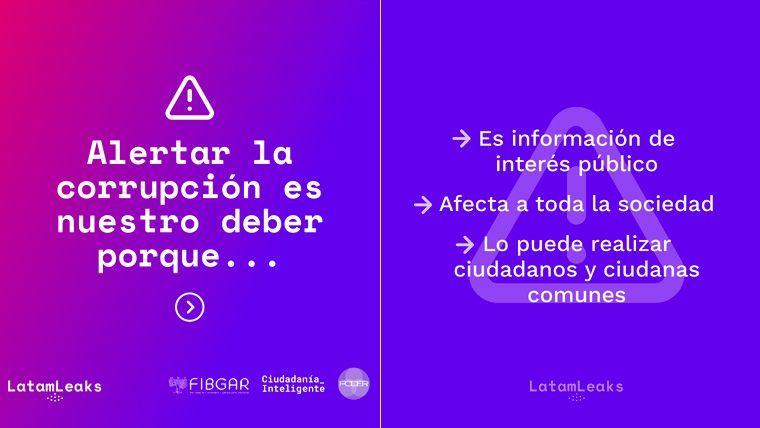 Latamleaks: la plataforma para denunciar corrupción en América Latina