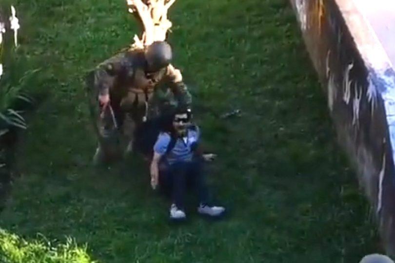 Revocan prisión preventiva a militar que disparó a civil en toque de queda