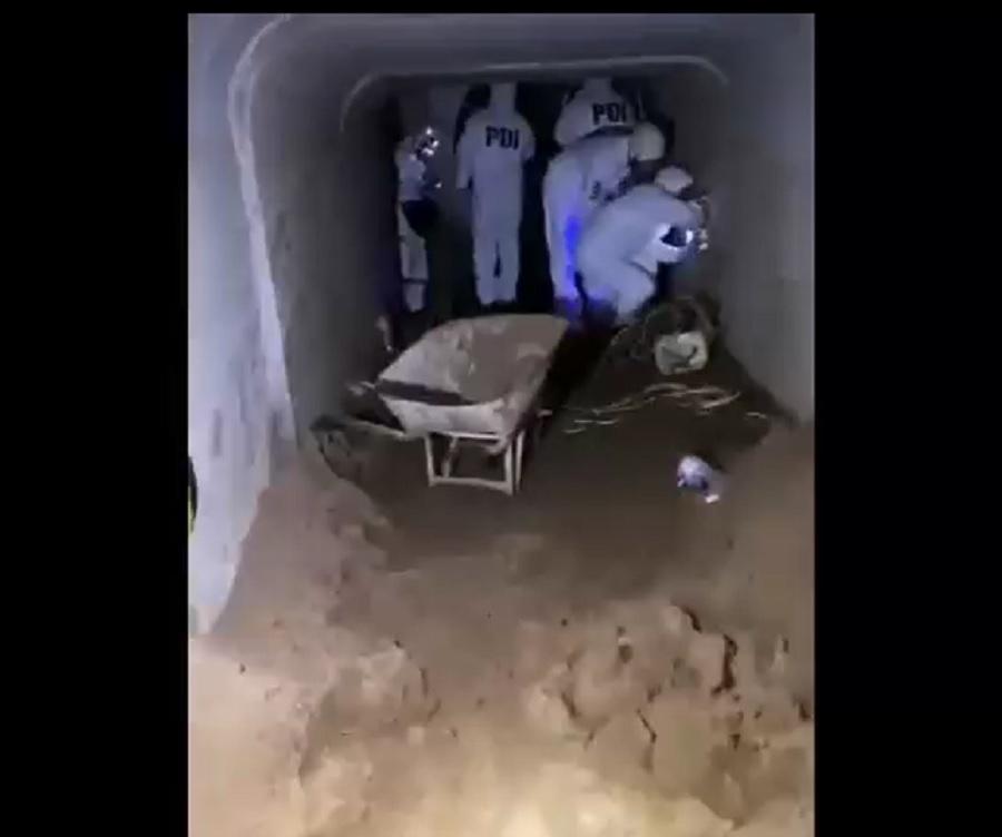 PDI halló túnel que iba directo a banco en Concón
