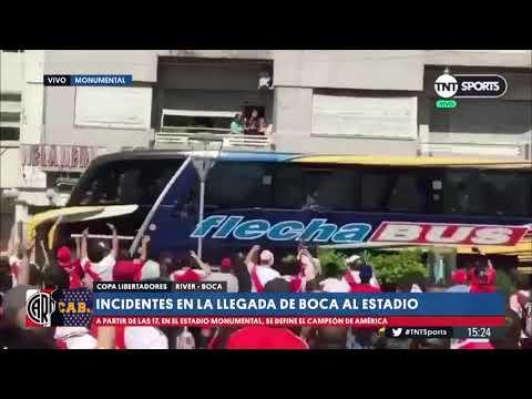 Monedazos y gas pimienta: los otros incidentes graves que han afectado a partidos de la Conmebol