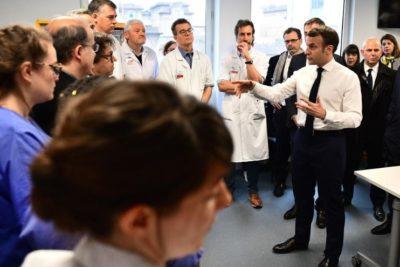 """Presidente Macron por muerte de francés por coronavirus: """"Nos enfrentamos a una epidemia"""""""