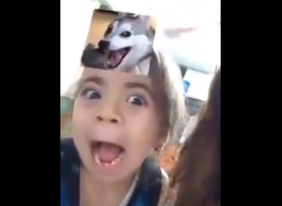VIDEO | La niña que se hizo viral por imitar los memes de animales