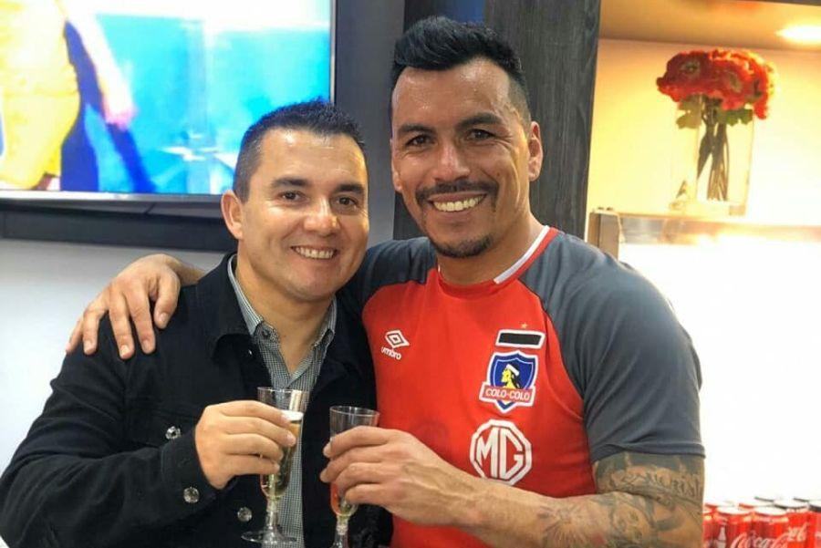 La férrea defensa de Esteban Paredes a su representante denunciado por abuso sexual