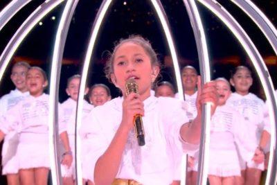¿Quién es la niña que cantó junto a Jennifer López en el Super Bowl?