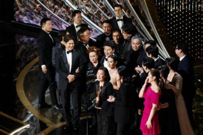 Parasite hizo historia y fue la gran ganadora de los Premios Oscar