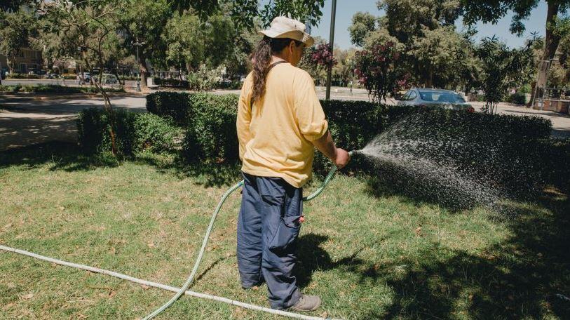 Municipalidad de Providencia establece prohibiciones de riego ante sequía
