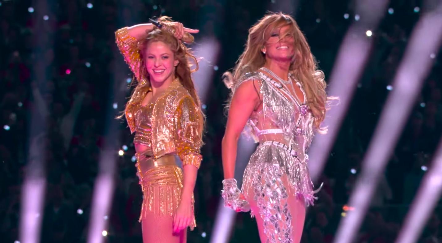VIDEO | Así fue el show de Shakira y Jennifer López en el Super Bowl