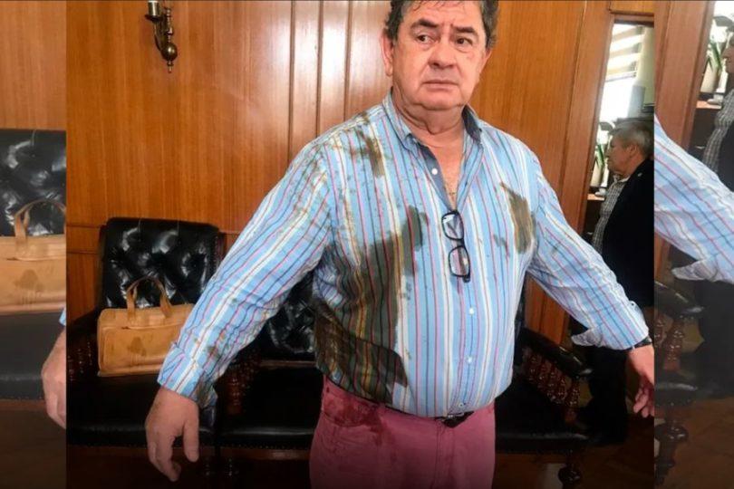 Concejal de Talca denuncia que trabajadora municipal le lanzó excremento