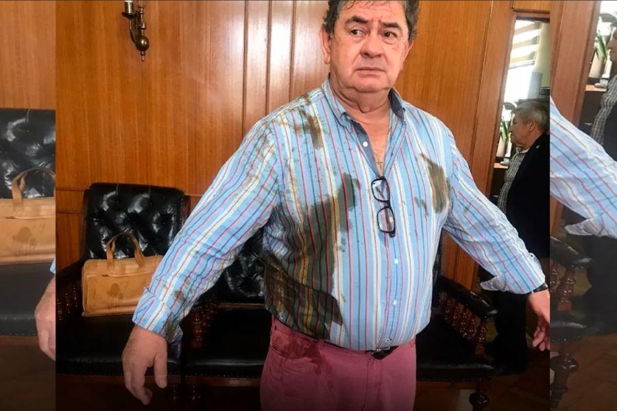 Funcionaria que atacó con excremento a concejal de Talca fue desvinculada