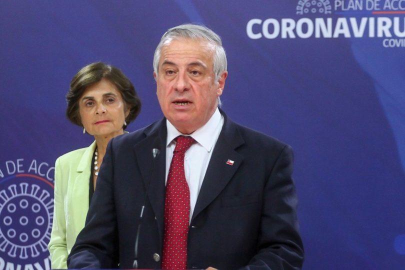 Mañalich confirma cuarto fallecido por coronavirus y casos llegan a 1.306