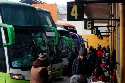 Alcalde Jorge Sharp decreta el cierre del terminal de buses de Valparaíso