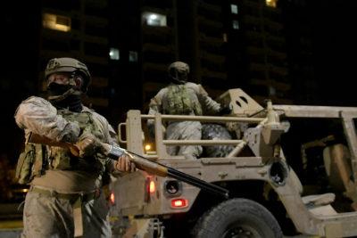 Fuerzas Armadas toman control de las fronteras a partir de las 00:00 horas