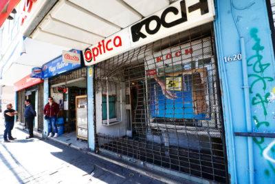 Estallido social: Comerciantes de Valparaíso inician campaña para repintar locales rayados