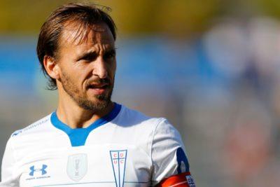"""José Pedro Fuenzalida: """"Es difícil enfocarse en la vuelta del fútbol"""""""