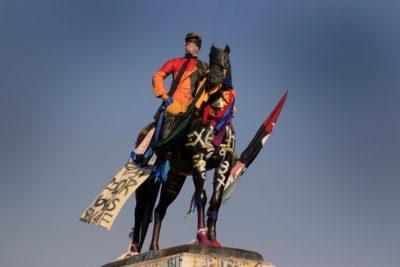 Ejército volvió a pedir el traslado de la estatua de Manuel Baquedano