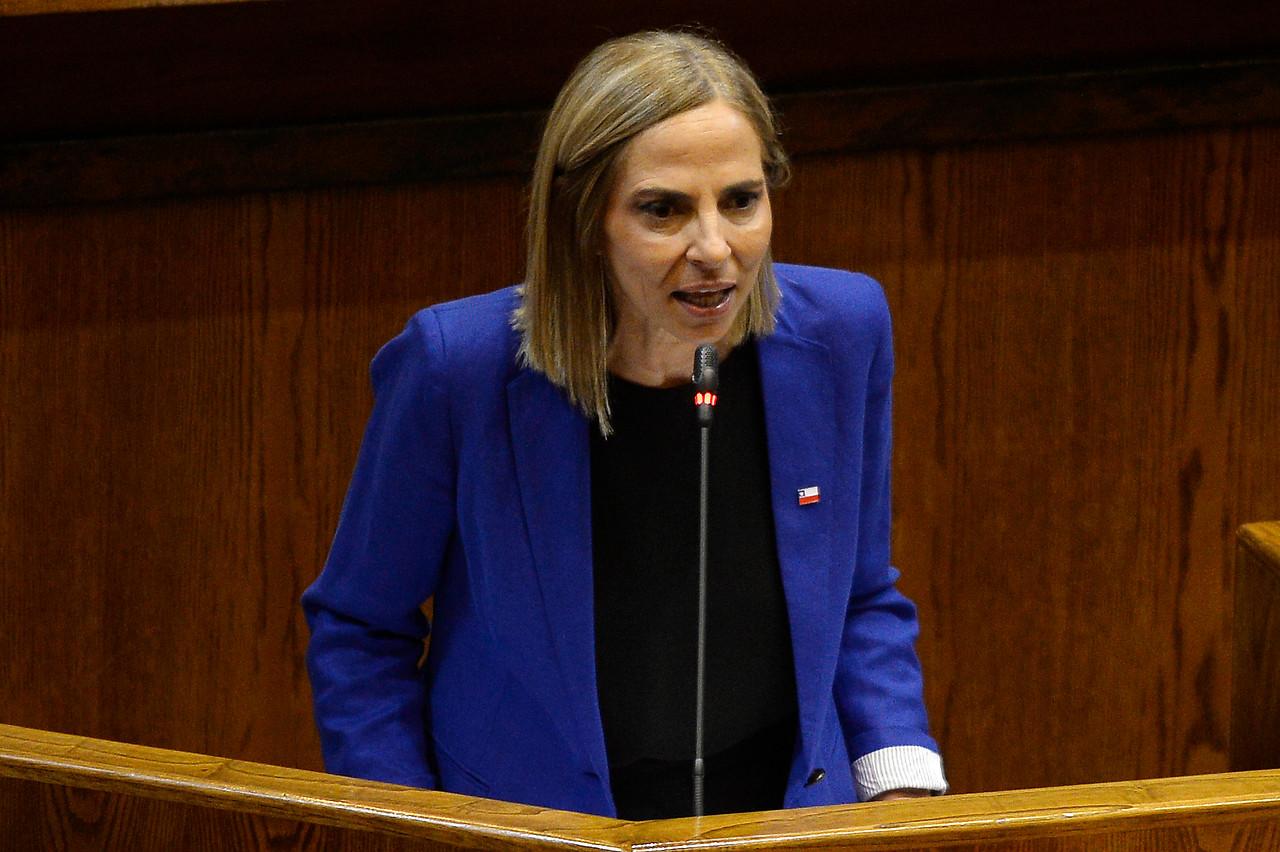 Marcha del 8M y supuesta renuncia: los descargos de la ministra Isabel Plá