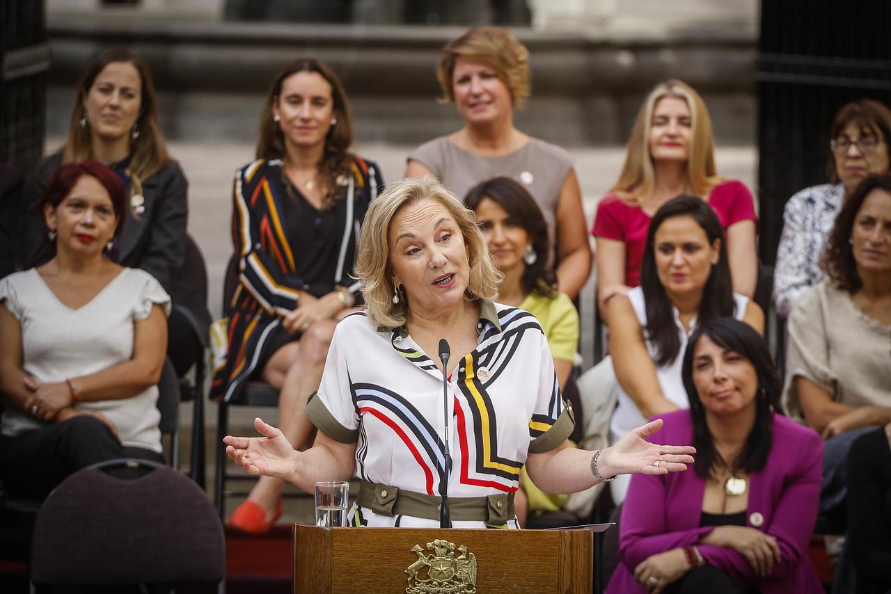 """Cecilia Morel: """"Debemos estar juntas y unidas por la no violencia"""""""